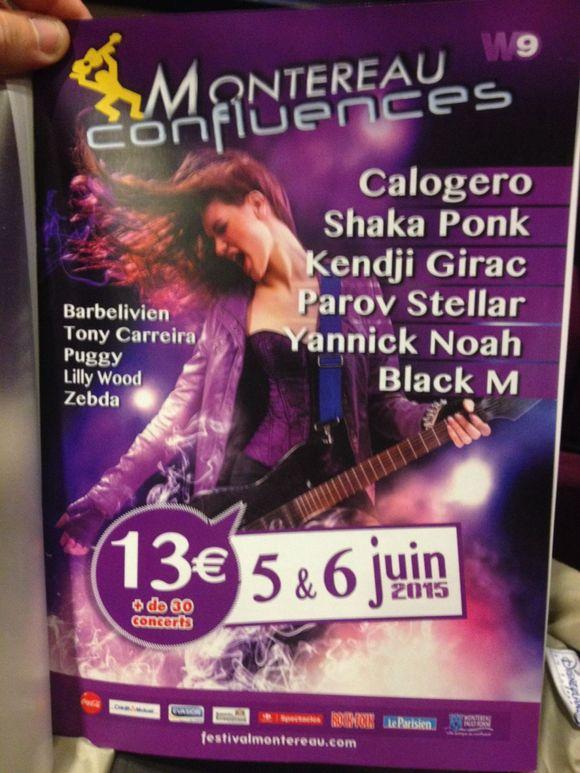 Affiche officielle de Montereau Confluencr