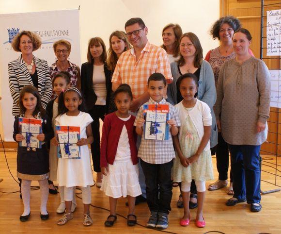 Récompenses pour les jeunes participants du dispositif clé
