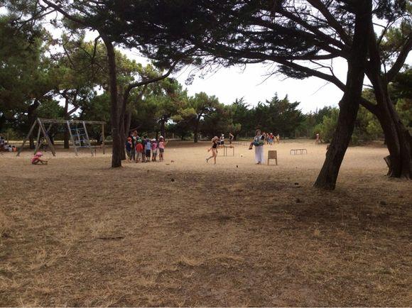 Visite de la colonie de Noirmoutier
