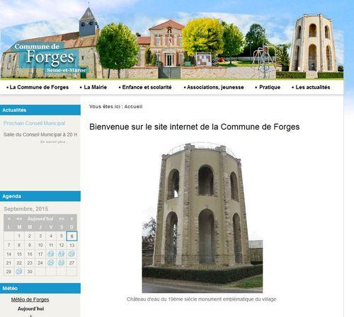 Capture forges site internet