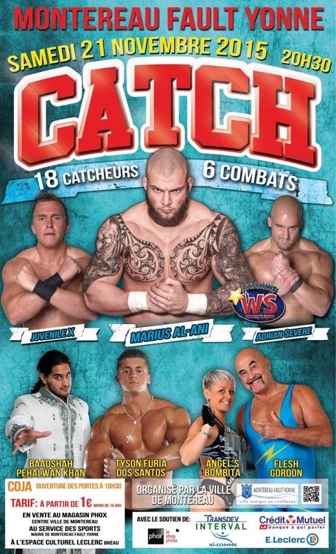 Catch à Montereau le 21 novembre 2015 !