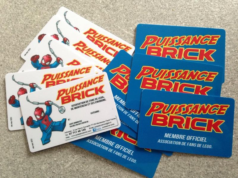 Puissance brick carte bleue