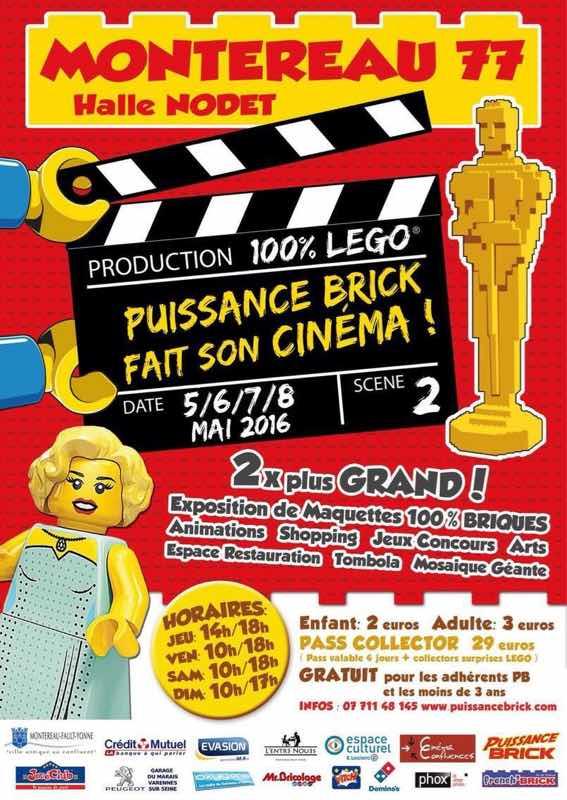 J-10, convention 100% LEGO à Montereau