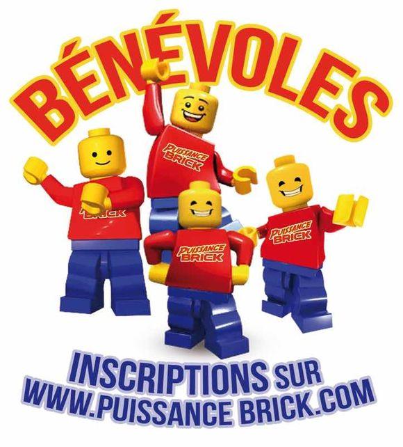 J-9, Donnez un peu de votre temps pour la réussite de la deuxième convention 100% Lego puissance brick