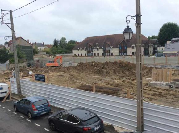 Les travaux de Montereau Coeur de Ville se poursuivent