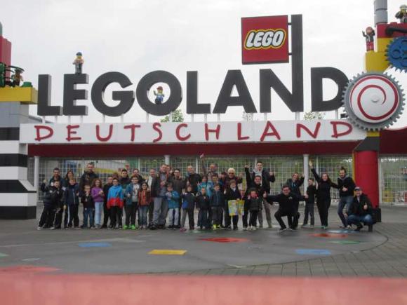 Puissance brick à LegoLand