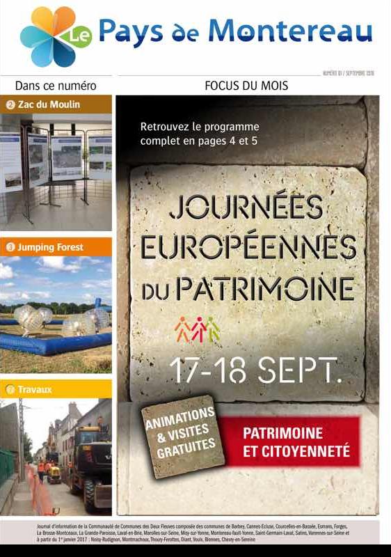 Le Pays de Montereau : la nouvelle gazette de la communauté de communes