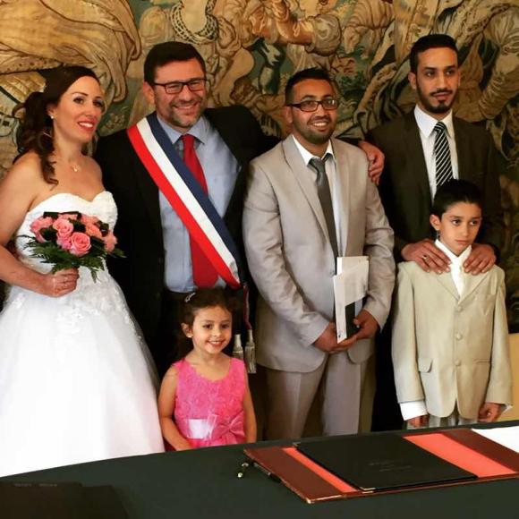 Félicitations à Adil et Sabrina