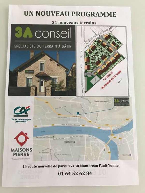 Nouveau programme immobilier à Montereau