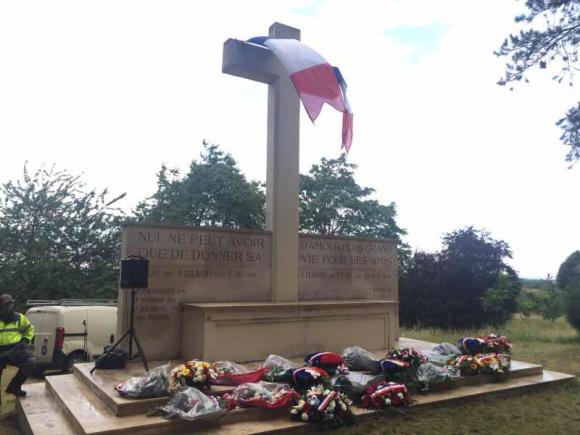 Cérémonie en mémoire des Oblats