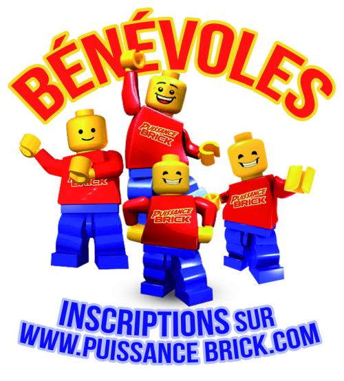 Bénévoles puissance brick