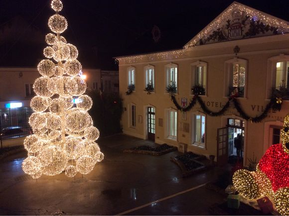 Bûches de Noël et AG de l'amicale des résidents Villa des Berges
