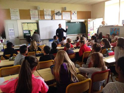 Sitcome intervention dans les classes