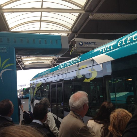 Le bus électrique aux recharges rapides