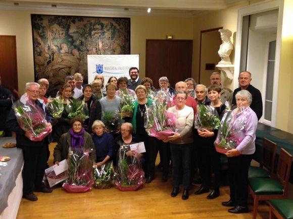 Cérémonie de récompense au concours des balcons et maisons fleuris
