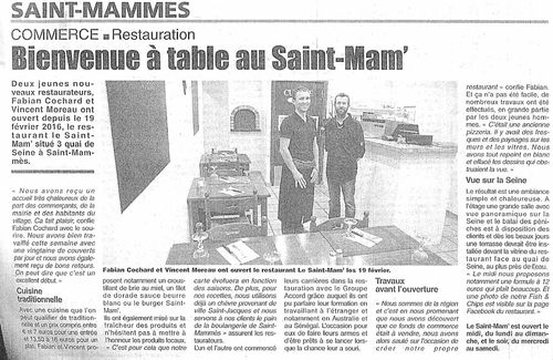 Capture saint mammes restaurant