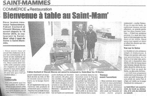 Capture saint mammes restaurant