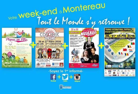 Ce week-end à Montereau
