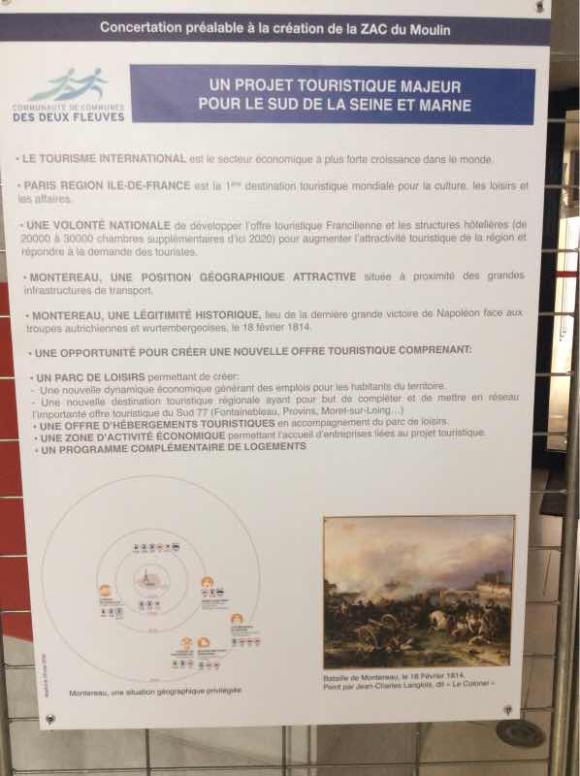 Début de la concertation préalable à la création de la ZAC du Moulin
