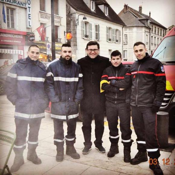 Téléthon 2016 : mobilisation des sapeurs-pompiers