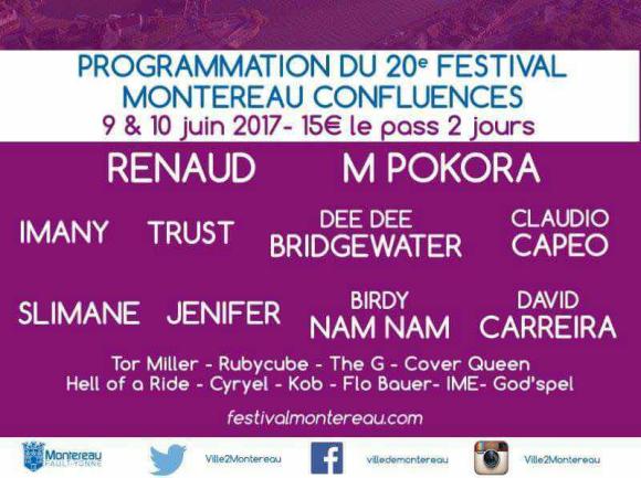 Programmation du 20e festival Montereau confluences