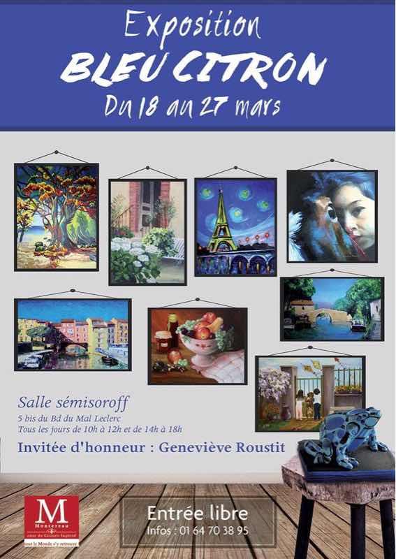 Exposition bleu citron 2017