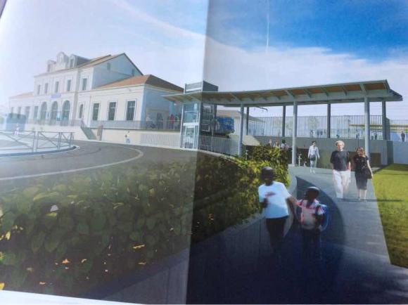 La SNCF a déposé son permis de construire