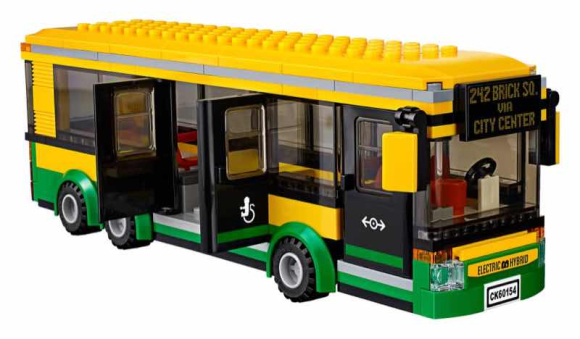 LEGO propose son premier bus au top
