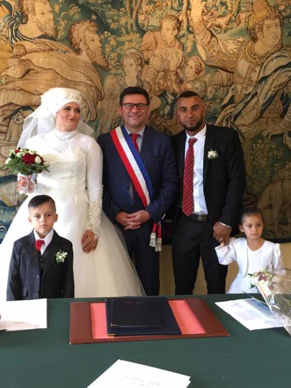 Félicitations à Nabil et Stéphanie