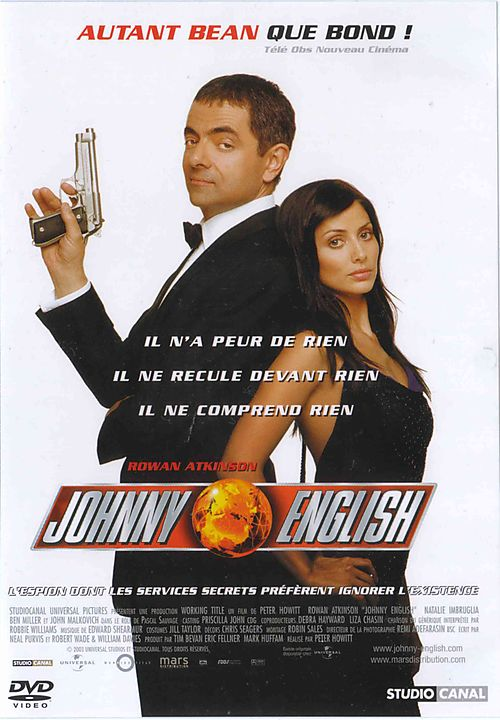 Johnny English – Dublado – 2003