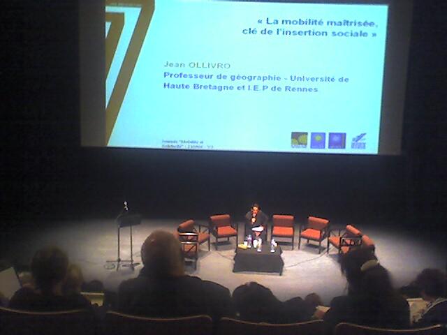 """Journee d'echange """"mobilite et solidarite"""""""